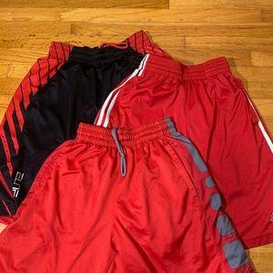 3 Nike/adidas bundle of shorts